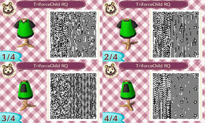 QR Code for TriforceChild by TofaTheDragonRider