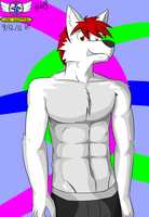 #08Shirtless furries are cool by Vent-Kazemaru