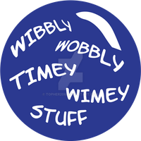 Timey Wimey T-shirt by topher208