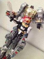 Gosei Knight With BuddyRoid Grimlock by 0PT1C5