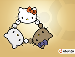 Ubuntu Hello Kitty by chipx86