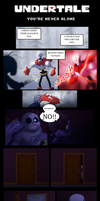 Undertale - You're Never Alone by TC-96