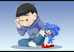 Karamatsu and Monty by Feneksia-Creations