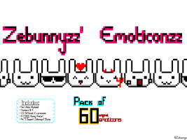 ZeBunnyzz' Emoticonzz Pack by ZeBunnyzz
