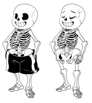 The bare bones by C-Puff