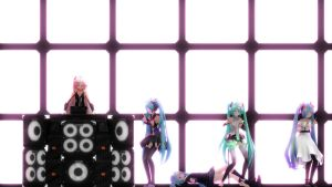 [VIDEO] Miku and IA TDA - Around The World by VocaloidHD