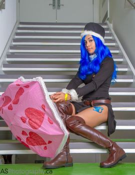 Juvia Lockser from Fairy Tail! by chanellenumber5