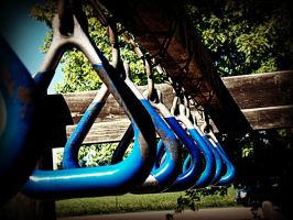 Rusting Playground Equipment by Missywoot1124