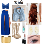 Disney: Kida Inspired Outfit by RockerChic21