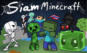 Siam minecraft again by Coffgirl