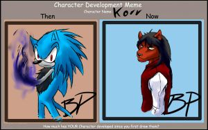 Character Developmental Meme by ChaserTech