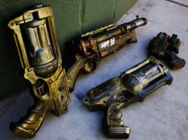 Steampunk Guns by FitCosplayer
