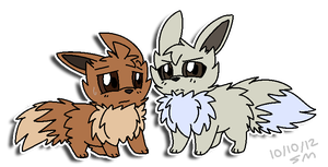 Tennent and Thorn -Pokemon/Greyscale- by PikaPlatinum
