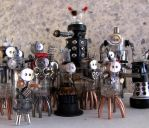 The Robot Army by clockwork-zero