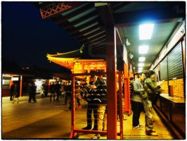 O-mikuji at Asakusa Senso-ji by Princess-Suki-W
