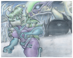 Zaria In Ice Age Earth by Virus-20