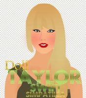 Doll.. ''TaylorSwift'' en .PSD y .PNG by Simpatiica