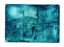 Blue Montpellier by CandyStripe