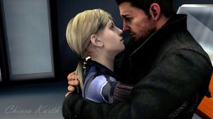 Jill Valentine and Chris Redfield 3 by mk-re55