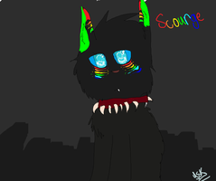 Art trade with scourge by yellowstarburstkitty