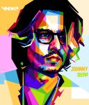 Johnny Depp Wpap by Lana1412al