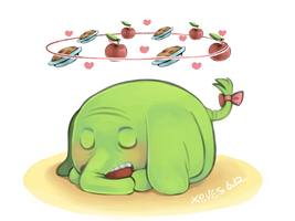 treetrunks loves apple pies by daughter-thursday
