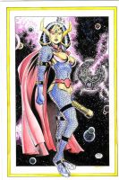 Big Barda_Color Version by MichaelBair