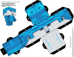 Tron original cubeecraft-XL p2 by randyfivesix