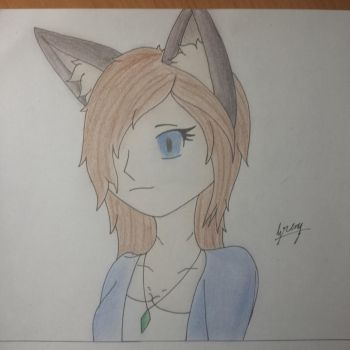 Wolf Girl by GrenyWolf