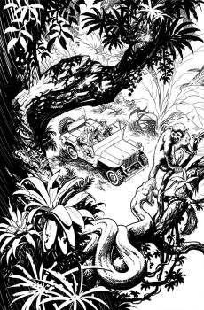 Swamp Thing 5 page 01 by YanickPaquette