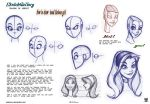 How to draw head Cartoon Girl by celaoxxx