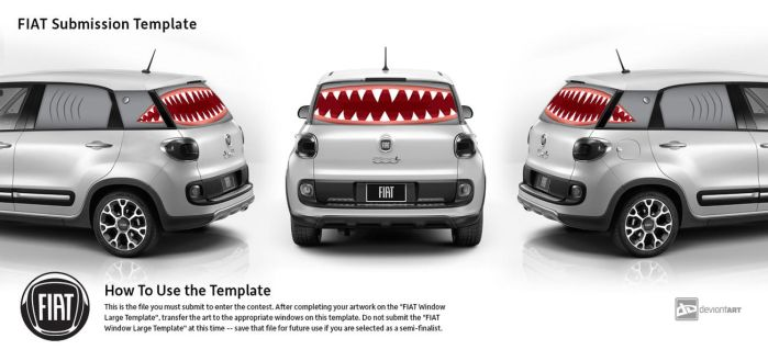 Fiat contest submission - shark attack by ilura-menday-less