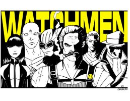 Watchmen by spicemaster