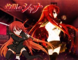 Shakugan no Shana by IronettaStark