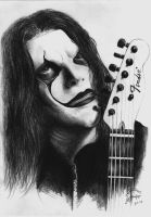 Jim Root by AminVakili