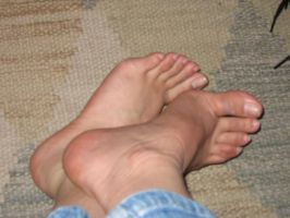 My Feet by goosehonker-stock