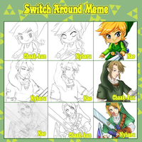 Switch Around Meme by naoguiarts