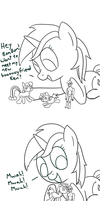 Oh, Lyra and Her Dolls! by spicyhamsandwich