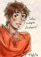 Feliz cumple, Antonio!! by AkariMarco
