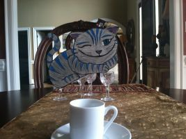 Cheshire cat paperchild by sures1109