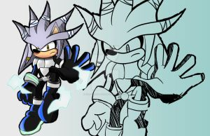 Sonic Origins(Working Title):Silver the Hedgehog by ChaosWhite180