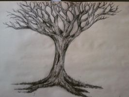 Ink Branches by MissHeatherElizabeth