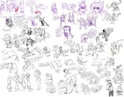 Livestream Doodles 2 by youlootamax
