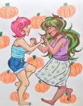 jaderoxy pumpkin ddddance party?? by IrLeerah