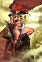 Red Sonja by raulman