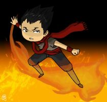 Fire Bender by teddysz