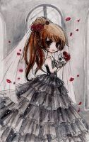 deathly bride to be... by naomiyui
