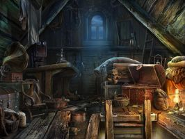 The Old Attic by Lemonushka