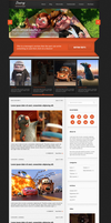 New Wordpress Theme by emrah-demirag