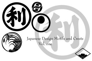 Japanese motifs and crests by Arkangel007